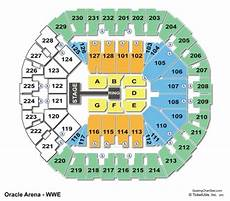 Oracle Arena Seating Chart Seating Charts Amp Tickets