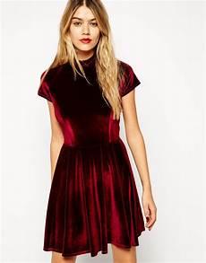 get lively s beautiful wine coloured velvet dress
