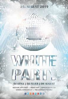 Free All White Party Flyer Template White Party 3 Free Psd Flyer Template Free Psd Flyer