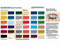 Bona Color Chart Bona Courtline Sport Paint Pc Hardwood Floors
