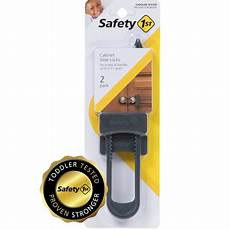 safety 1st cabinet slide lock for childproofing 2 pack