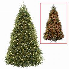 7 5 Foot Dual Light Christmas Tree National Tree Company 10 Ft Dunhill Fir Artificial