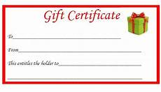Gift Certificate Prints Free Christmas Printable Gift Certificates The Diary