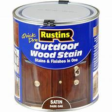 Light Oak Outdoor Wood Stain Rustins Quick Dry Outdoor Wood Stain Dark Oak 1l