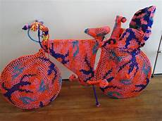 knitting is for exhibit by artist olek