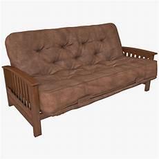 Leather Futon Sofa 3d Image by Sofa Futon 3d Model