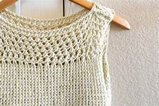 knit summer summer vacation knit top pattern in a stitch