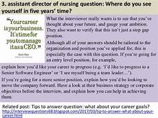 Director Of Nursing Interview Questions 40 Assistant Director Of Nursing Interview Questions And