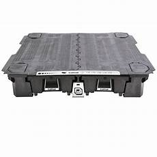 decked truck bed tool boxes black for gm silverado