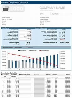 Simple Loan Calculator Excel Simple Interest Loan Calculator Free For Excel