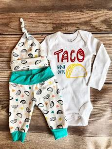 taco baby clothes taco bout newborn gender neutral