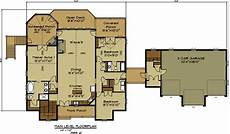 Floor Plan Car Open House Plan With 3 Car Garage Appalachia Mountain Ii