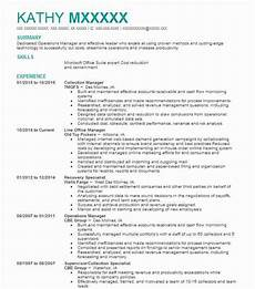 Collection Manager Resume Collection Manager Resume Sample Manager Resumes