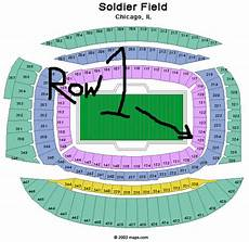 Soldier Field Virtual Seating Chart Soldier Field Seating Chart H3kterrific Flickr