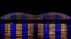 Hernando De Soto Bridge Lights Mighty Lights Bridge Photography Youtube