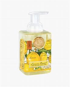 Michel Design Soap Michel Design Works Lemon Basil Foaming Hand Soap The