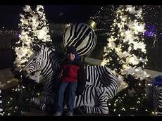 Zoo Lights St Louis Hours Wild Lights At The St Louis Zoo 2018 Youtube