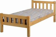 carlow single 3ft solid antique pine wood bed frame ebay