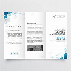 Template For Brochure Free Simple Trifold Business Brochure Template Design