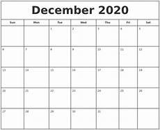 free online printable calendars 2020 december 2020 print free calendar