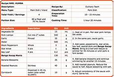 Standard Form Recipe Topic 3 Standard Recipes And How To Scale Them Unilever