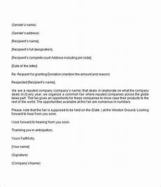 Request For Contribution Letter Sample Donation Request Letter 8 Free Download For Word