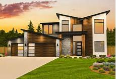 contemporary house plan with casita 85182ms