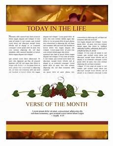 Thanksgiving Newsletter Template Free Thanksgiving Joy Newsletter