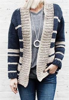 bulky yarn knitting patterns knit cardigan pattern