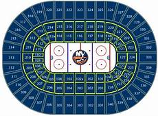 New York Islanders Coliseum Seating Chart Nhl Hockey Arenas Nassau Veterans Memorial Coliseum