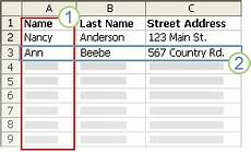 Printing Address Labels From Excel Create And Print Mailing Labels For An Address List In