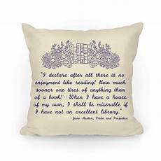 pride and prejudice book quote pillows human