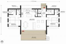 modern style house plan 2 beds 2 baths 991 sq ft plan 933 5