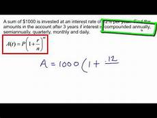 Principle And Interest Calculator Calculate Compound Interest Youtube