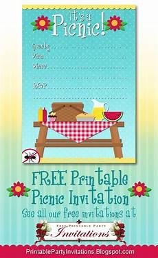 Family Picnic Invitation Free Printable Picnic Invitation Party Printables