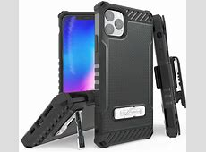 iPhone 11 Pro Max Case with Clip, Tri Shield [Military