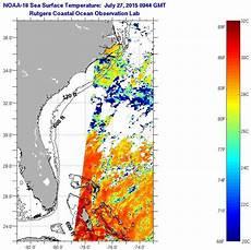 Sst Charts Rutgers Florida Current Sea Surface Temperatures Monday July 27