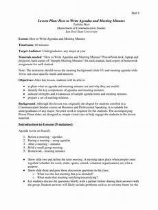 Minutes For A Meeting 5 Formal Minutes In A Meeting Templates Pdf Free