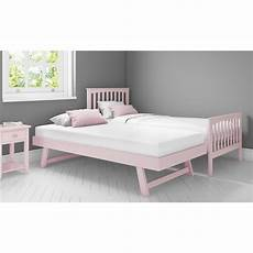 oxford single guest bed in pink trundle bed included