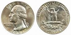 1932 D Quarter Value Chart 1953 D Washington Quarters Silver Composition Value And