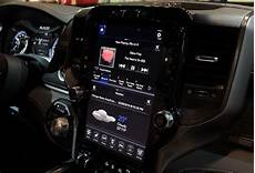 2019 dodge touch screen the 2019 ram 1500 shows its 12 inch
