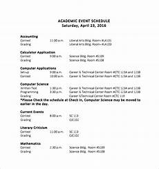 Program Of Events Sample Free 18 Sample Event Schedule Templates In Ms Word Pdf