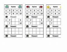 Reward Chart For Students Student Sticker Reward Chart By Allen Teachers