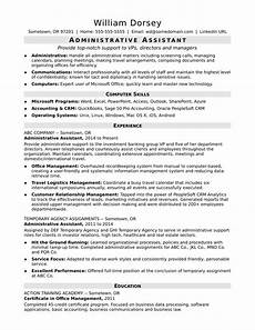 Skills For Administrative Assistant Midlevel Administrative Assistant Resume Sample Monster Com