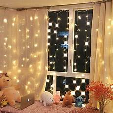 How To Make A String Light Curtain Warm White 300 Led Fairy Curtain String Lights Wedding
