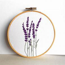 flower embroidery hoop floral wall rustic home