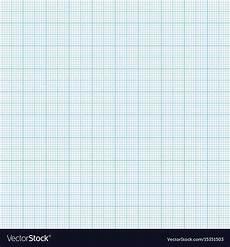 Light Blue Graph Paper Blue Metric Graph Paper Seamless Pattern Vector Image