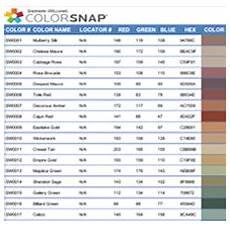 Sherwin Williams Industrial Color Chart Sherwin Williams