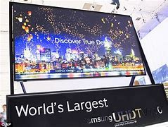 Image result for what is the biggest tv in the world?