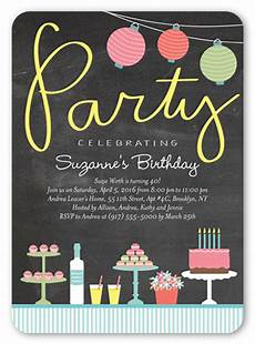 Party Invation Delicious Delight Surprise Party Invitation Shutterfly